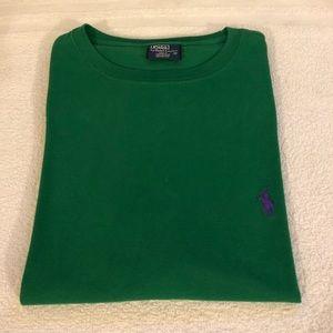 Polo Ralph Lauren Solid Green T-Shirt size M